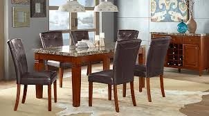 7 dining room sets edenton merlot 7 pc rectangle dining room dining room sets wood