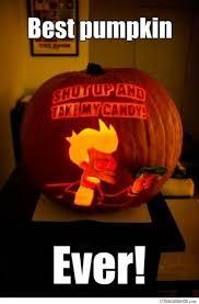 Meme Pumpkin Carving - pumpkin carving done right strange beaver