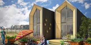 these brilliant tiny homes can be built in a day huffpost