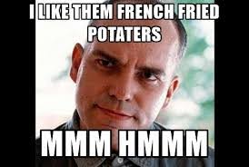 Sling Blade Meme - list of synonyms and antonyms of the word mmm hmmm