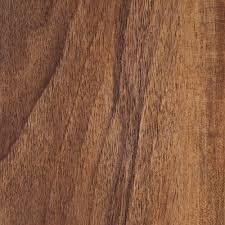 Laminate Flooring Expansion Hampton Bay Hand Scraped Walnut Plateau 8 Mm Thick X 5 9 16 In