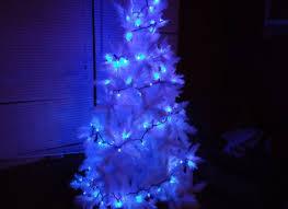 white wire wide angle blue 50 bulb led lights sets 11