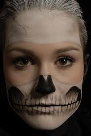 Skeleton Face Painting For Halloween by Makeup Ideas Halloween Skeleton Makeup Beautiful Makeup Ideas
