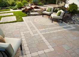 Painted Patio Pavers Ecoscaping Anchor Block Company