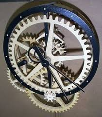 free wooden clock plans dxf general pinterest wooden clock