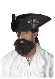 beard halloween costumes pirate captain beard