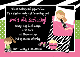 30th Birthday Invitation Cards Sleepover Birthday Invitations U2013 Gangcraft Net