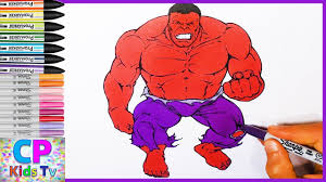 red hulk coloring pages for kids 1 hulk coloring pages fun