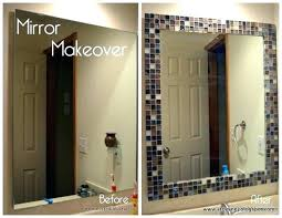diy bathroom mirror frame ideas bathroom mirror frame ideas overcurfew com