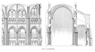 notre dame cathedral architectural drawings google 검색