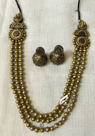 buy antique gold and terracotta jewellery