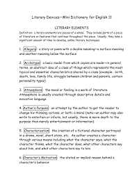 english 11r literary devices