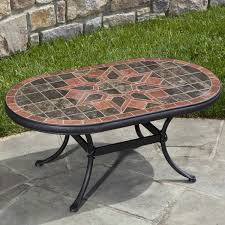 Patio Table Tile Top Coffee Table Hampton Bay Belleville Tile Top Patio Coffee Table