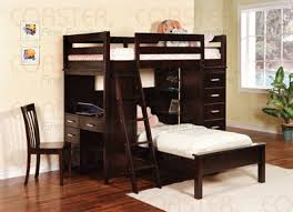 Bunk Bed With Futon On Bottom Furniture Bunk Bed With Desk On Bottom Loft And Drawers Cool