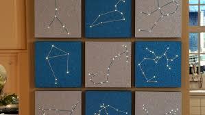 zodiac constellation wall art u0026 video martha stewart