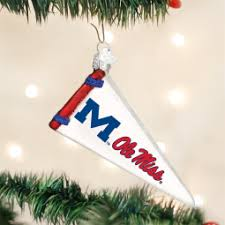 world mississippi ncaa ole miss rebels pennant