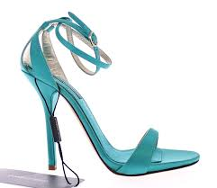 dolce u0026 gabbana blue silk ankle strap sandals heels shoes