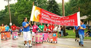 northern lights columbus ohio fourth of july parade karl road and northern lights branch of