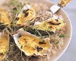 cuisiner les huitres recette huîtres gratinées