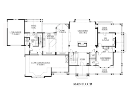craftsman floorplans house plan 87669 at familyhomeplans com
