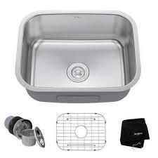 Kitchen Sink Undermount Single Bowl - undermount kitchen sinks kitchen sinks the home depot