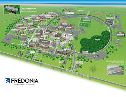 St Andrews State Park Map by Campus Map Fredonia Edu