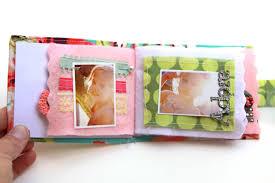 fabric photo album diy fabric and felt album dear lizzy