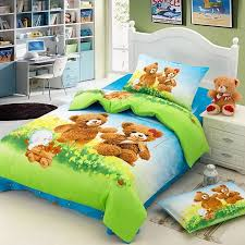 Duvet Covers Kids Online Shop Teddy Bear Cartoon Cute Baby Bedding Sets Kids