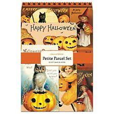 Halloween Gift Wrap - cavallini wrapping paper paper source