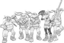 teenage mutant ninja turtles 2012 main heroes by 4xeyes1987 on