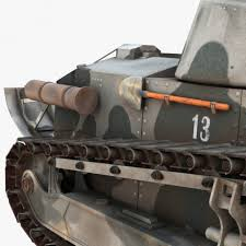 renault f1 tank renault ft 17 3d model cgstudio