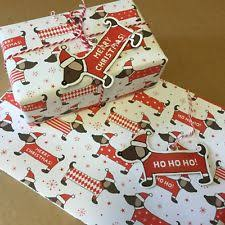 dachshund christmas wrapping paper wrapping paper ebay