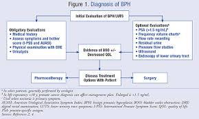 guidelines for the treatment of benign prostatic hyperplasia