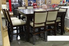 pulaski dining room furniture costco pulaski 9 pc counter height dining set instore only 599 97