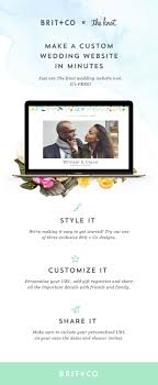 registry wedding website the 25 best the knot wedding website ideas on wedding
