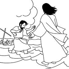 jesus the good shepherd coloring pages jesus walking on water coloring page coloring page