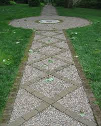 Slope For Paver Patio by Cool Garden Path Landscaping On A Slope Full Imagas Nice Pattern