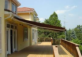 Deck Awnings Retractable Cost Benefits Of A Motorized Retractable Deck Awning Weathercraft
