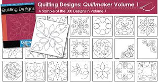 10 off quilting designs the quiltmakers collection vol 1