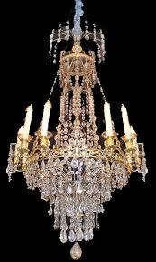 Antique Rock Crystal Chandelier A Magnificent Ten Light 18th Century Rock Crystal Cut Crystal And
