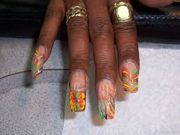 cool nails art design african american manicures by brooklyn nail