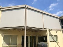 Cafe Awnings Melbourne Motorised Sunshade Cafe Style Ziptrack Blinds Outdoor U0026 Indoor