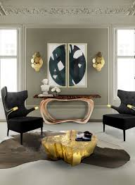 gold coffee table design ideas you will covet