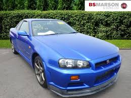 nissan skyline r34 for sale used 2000 nissan skyline gt r v spec for sale in staffs pistonheads