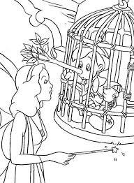 blue fairy pinocchio coloring pages bulk color