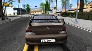 mitsubishi 2 door car mitsubishi lancer evolution ix 2006 mr for gta san andreas