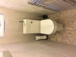 eco toilet with stone pebble floor home improvements pinterest