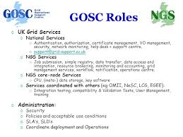 va national service desk how to connect cus grids to the ngs neil geddes director gosc