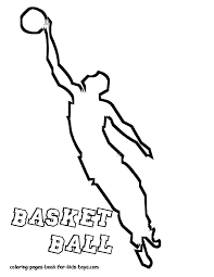 basketball court coloring pages getcoloringpages com
