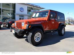 orange jeep 2006 impact orange jeep wrangler unlimited rubicon 4x4 76740523